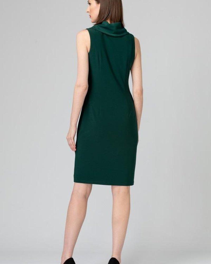 Joseph Ribkoff Cowl neckline dress
