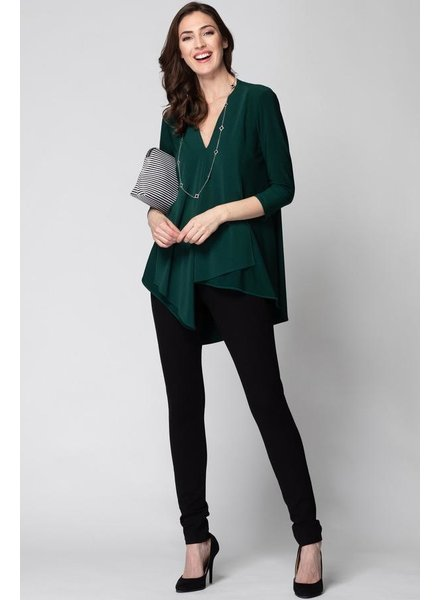 Joseph Ribkoff Assymetrical 3/4 sleeve top