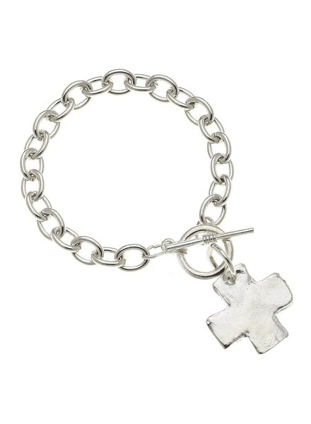 Susan Shaw Cross Toggle Bracelet