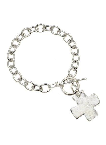 Susan Shaw Cross Toggle Bracelet