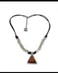 Vidda Fenix adjustable Necklace with Light Smoke Topaz