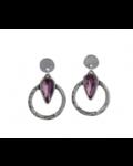 Vidda Juno Earring, Silver Night