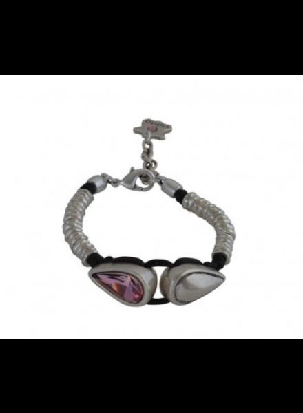 Vidda Aura Bracelet, Denim Blue Crystal