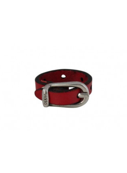 Vidda Mio Adjustable ring, Red