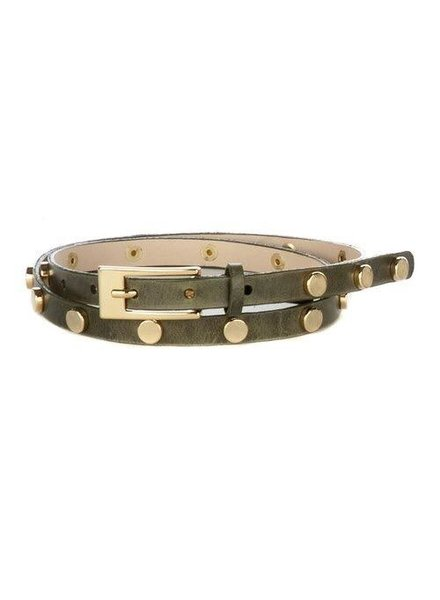 BRAVE MAJA GARMENT LEATHER BELT