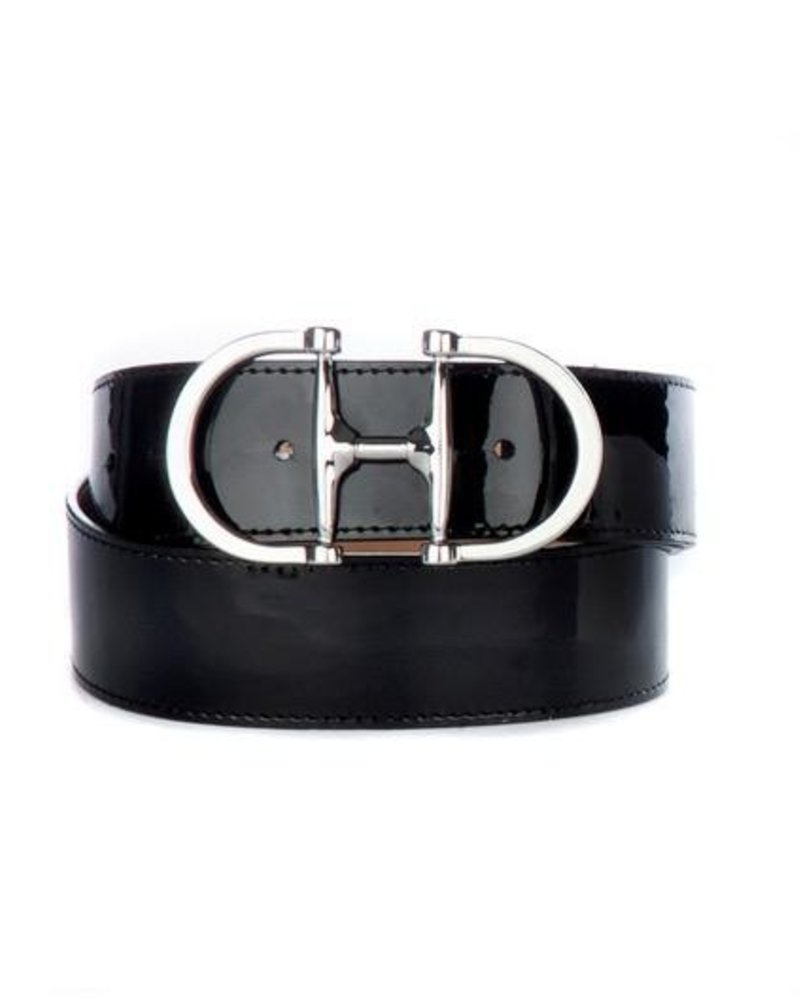 BRAVE KASI PATENT LEATHER BELT