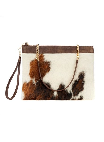 BRAVE SHARON BAG IN NATURAL COW