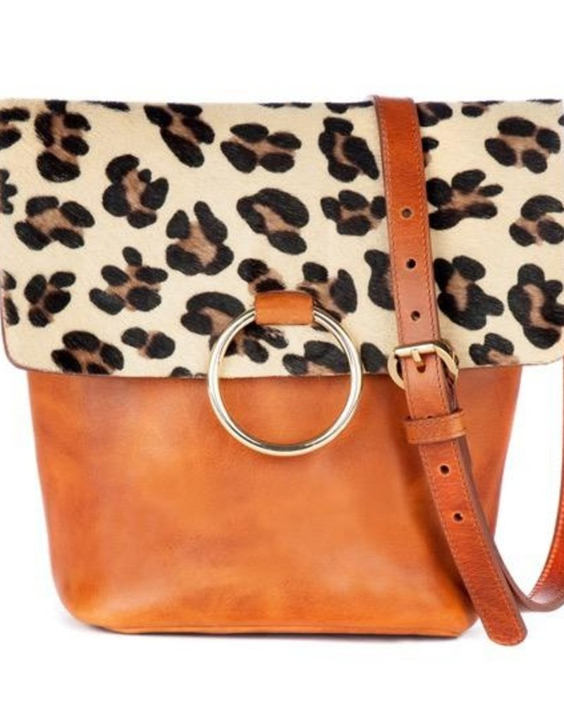 verdigris Virture Bag In Leopard
