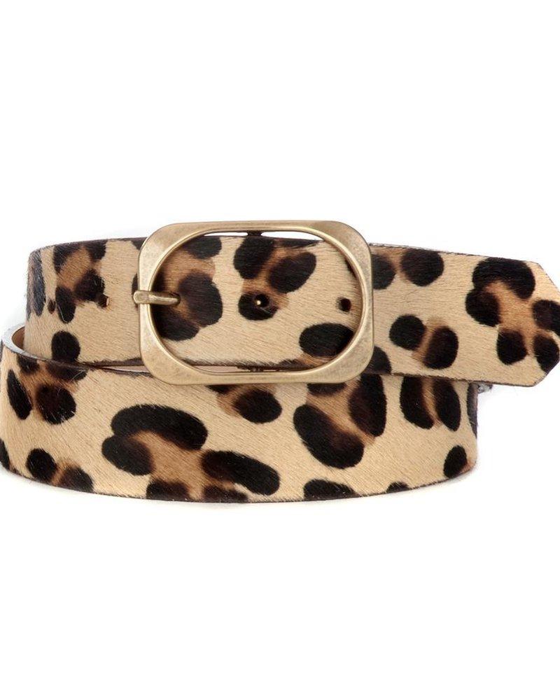 verdigris Oona Leather Belt