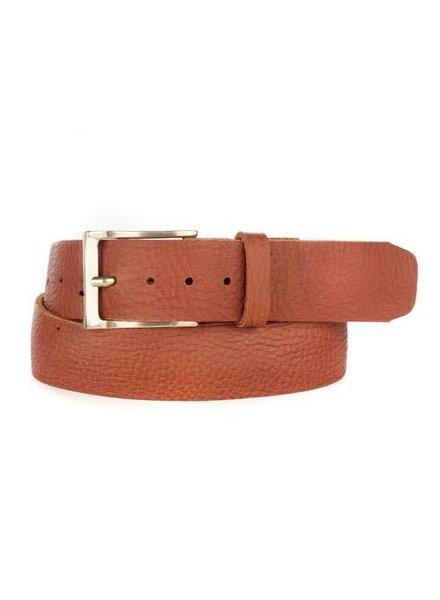 verdigris Cava Leather Belt