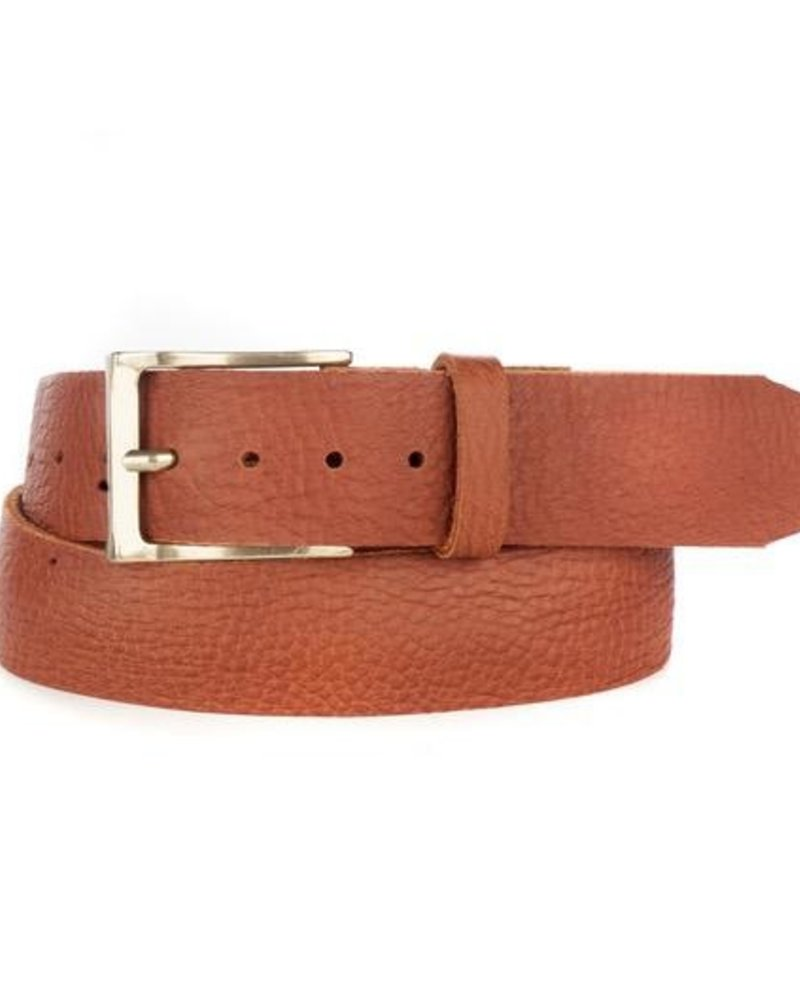 verdigris Cava Leather Belt
