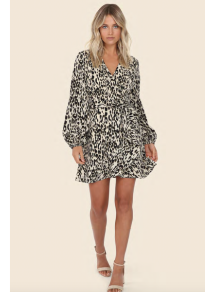 Lost In Lunar Callie Wrap Dress
