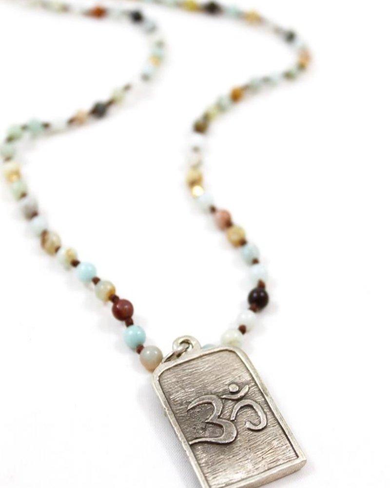 verdigris Holy Buddah Necklace