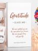 verdigris Gratitude Glass Jar