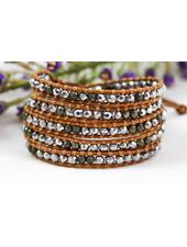 verdigris Alpaca Wrap bracelet