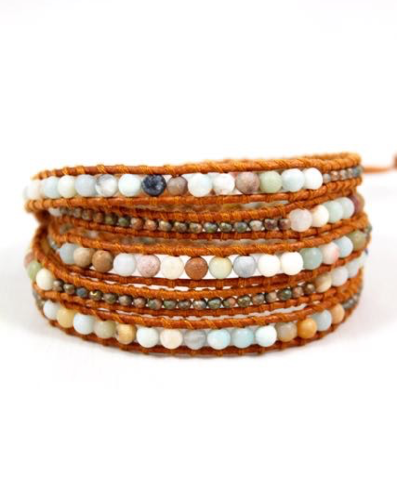 verdigris Brooke Wrap Bracelet
