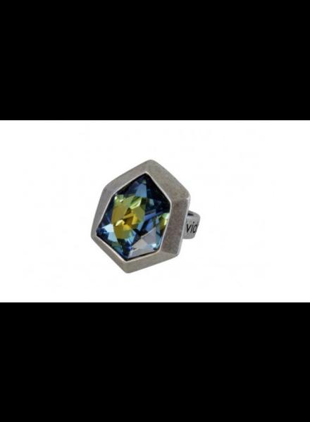 verdigris Apolo ring