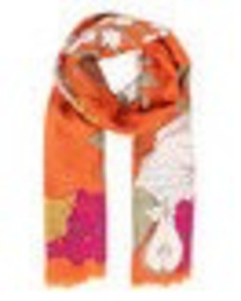 verdigris Roman Rabbit Print scarf