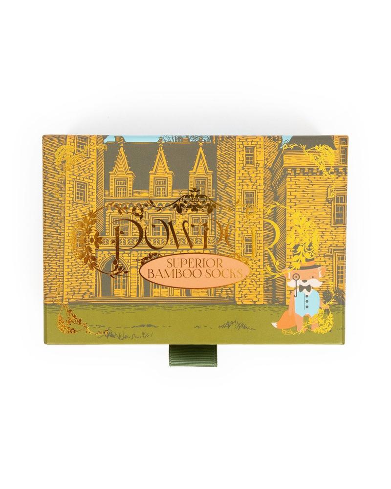 verdigris Gentleman Fox - Ladies Sock Gift Box