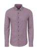 Stone Rose Check Knit Performance Long Sleeve Shirt