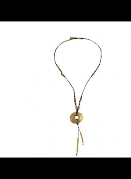 verdigris Cascabel Necklace