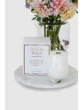 verdigris Wedding Wishes Candle