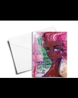 verdigris GREETING CARD: YOUR FIERCENESS