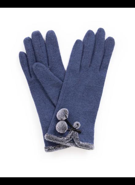 verdigris Betty Wool Gloves