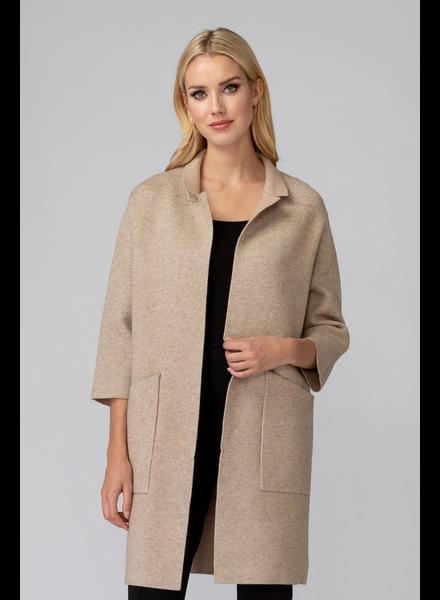 verdigris Coat style jacket w/wide pockets