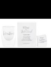 verdigris 30 Days of Intentions Glass Jar