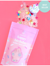 verdigris Happy Birthday Bubbly Bath Salt Soak