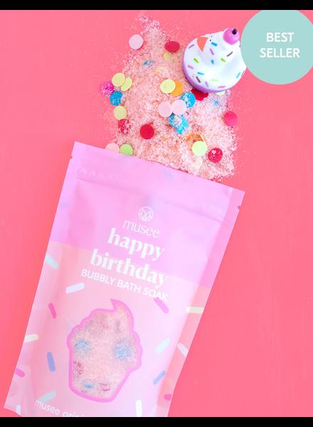 verdigris Happy Birthday Bubbly Bath Salt Soak