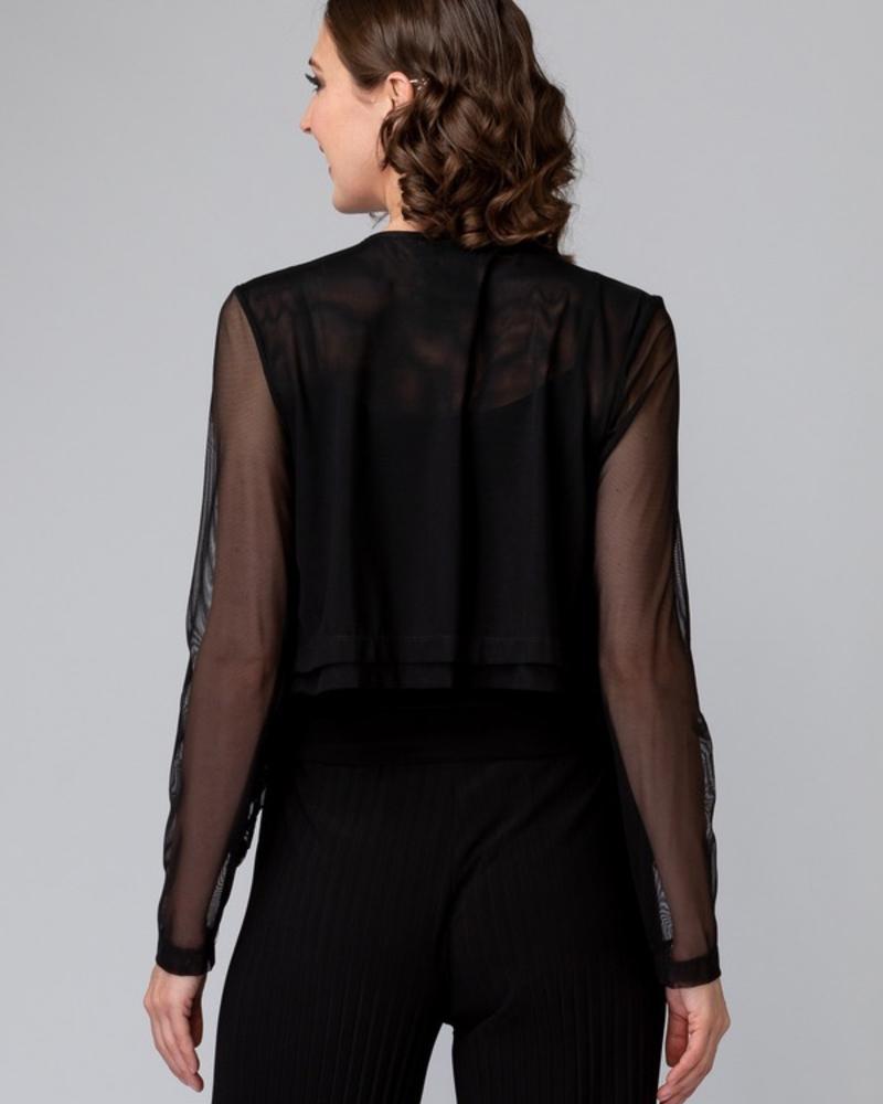 verdigris Sheer, full-length sleeve cover up
