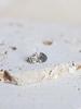 verdigris DECO DIAMOND TEARDROP EARRINGS