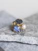 verdigris SALEMA DECO DIAMOND RING