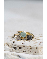 verdigris ESME DIAMOND STACK RINGS