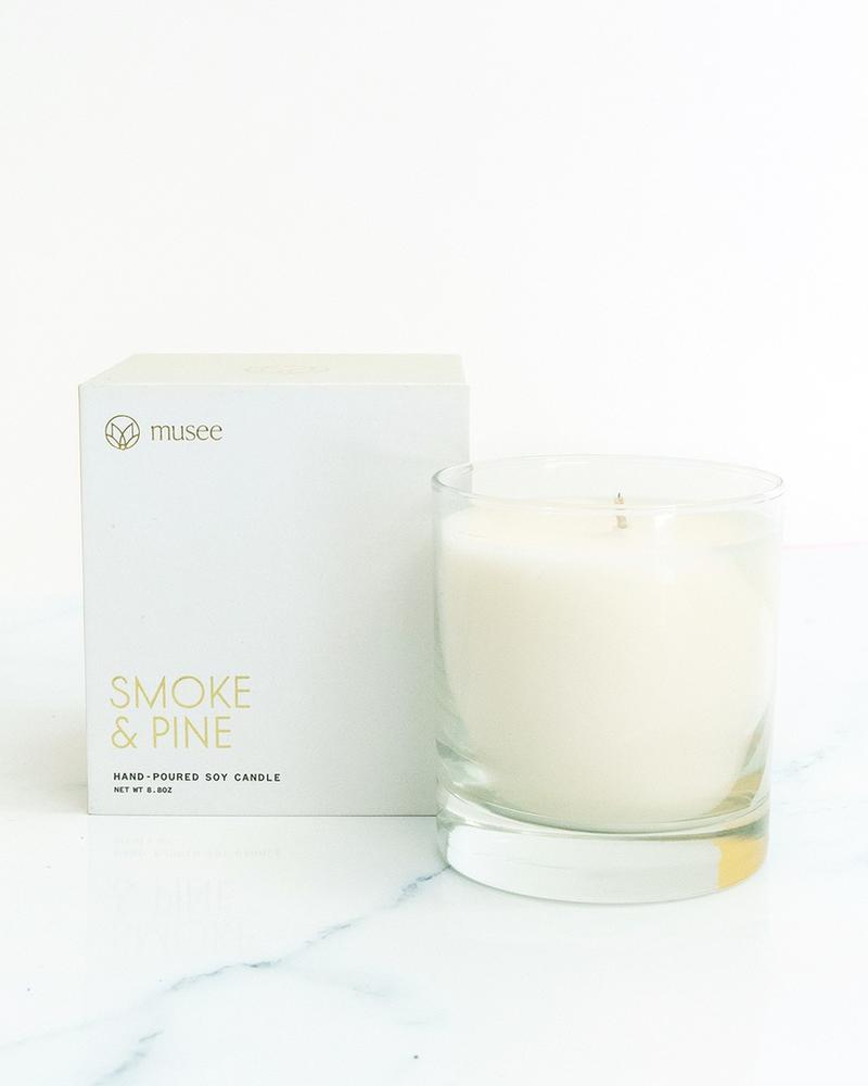 verdigris Smoke and Pine Candle