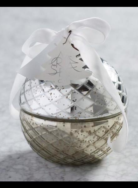 verdigris Mer-y Mer-y X-Large Retro Ornament Candle