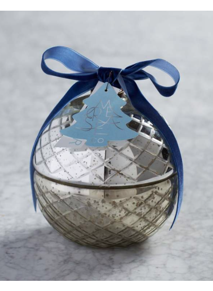 verdigris Winterlude X-Large Retro Ornament Candle