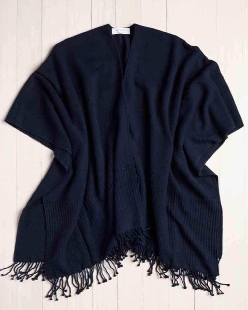 verdigris The Classic Travel Wrap,Navy