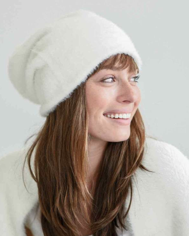 verdigris The Chalet Beanie, Winter White