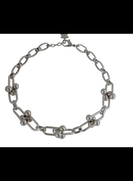 verdigris Pitch Necklace