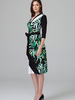 verdigris Wrap dress