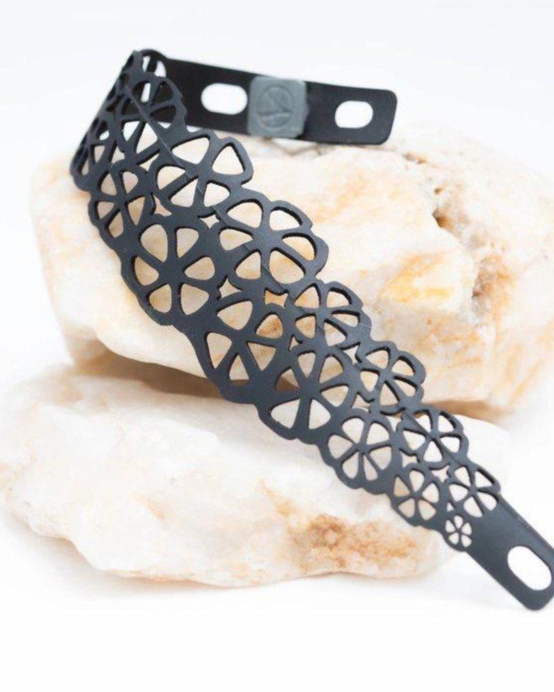 verdigris citrus rubber bracelet