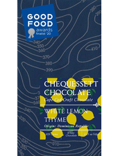 verdigris White Lemon Thyme Chocolate Bar
