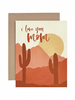 verdigris I Love You Mom Desert Greeting Card