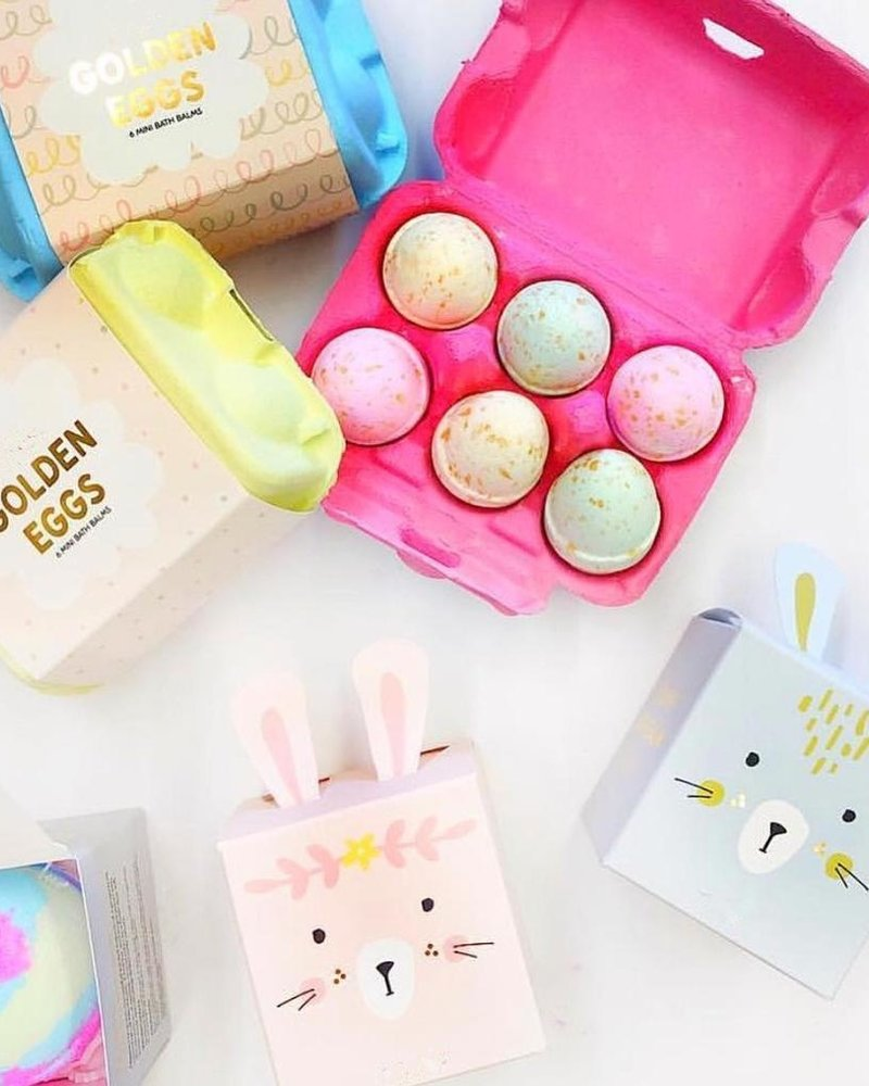 verdigris Bunny Box , Bath Balm