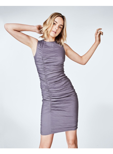 Nicole Miller Tuck dress