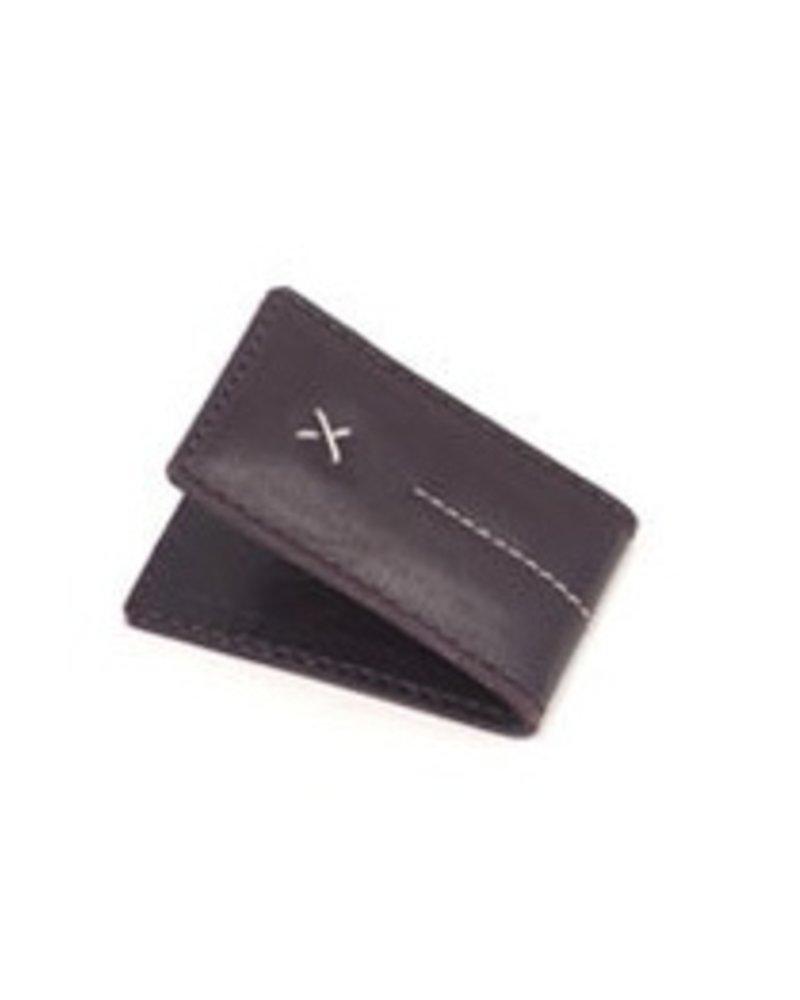 ALFRED STADLER Leather Money Clip