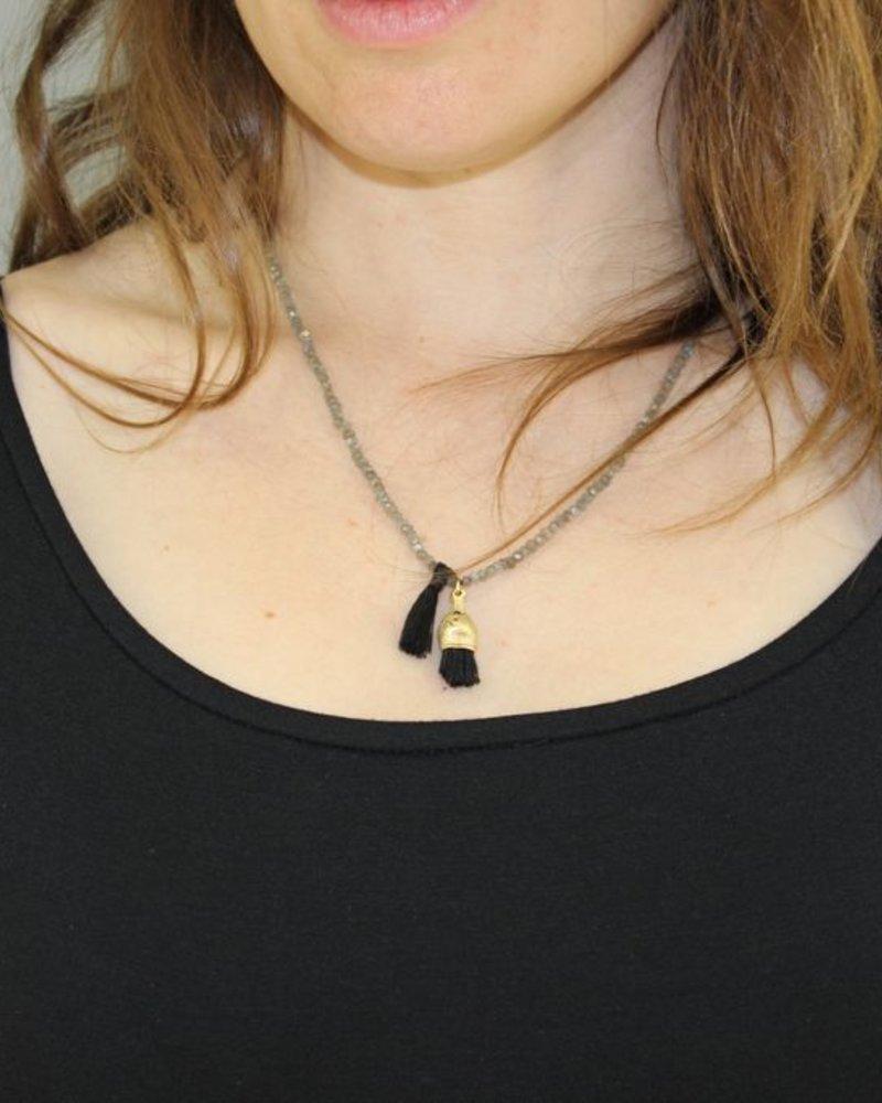 Swarovski Beads with tassel